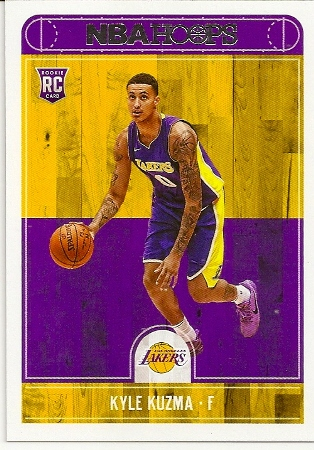 Kyle Kuzma 2017-18 NBA Hoops Rookie Card