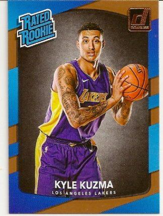 kyle-kuzma-2017-18-panini-donruss-rookie-card