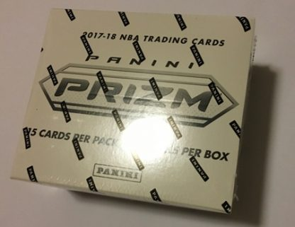 panini prizm basketball box