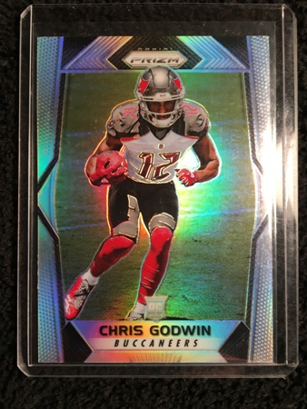 Chris Godwin 2017 Panini Prizm Rookie Card