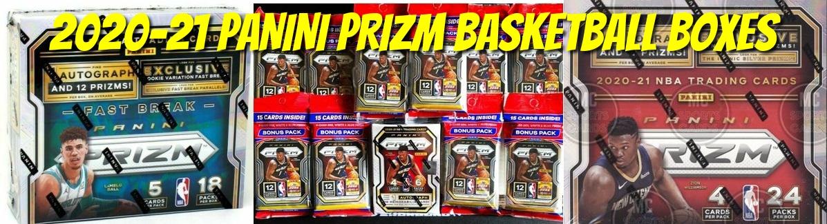 2020-21 Panini Prizm Basketball Boxes