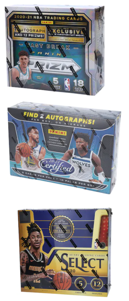 Basketball Card Factory Sealed Boxes